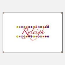 Ryleigh with Flowers Banner
