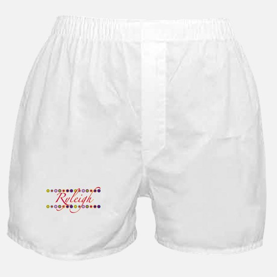 Ryleigh with Flowers Boxer Shorts