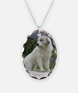 Great Pyrenees Necklace,Mountainview