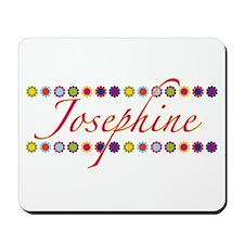 Josephine with Flowers Mousepad