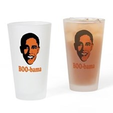 Halloween Boo Bama Drinking Glass