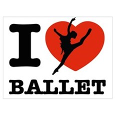 I love Ballet Poster