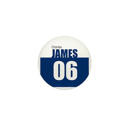 James 06 Mini Button (100 pack)