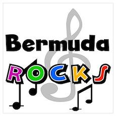 Bermuda Rocks Poster