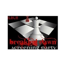Breaking Dawn Screening Party Rectangle Magnet