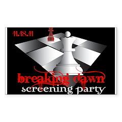 Breaking Dawn Screening Party Decal