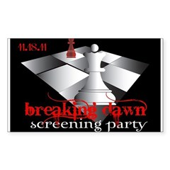 Breaking Dawn Screening Party Decal