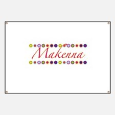 Makenna with Flowers Banner