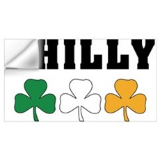 Philly Irish Shamrocks Wall Decal
