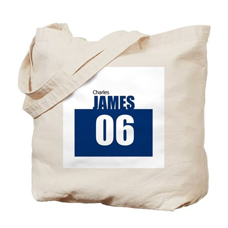 James 06 Tote Bag