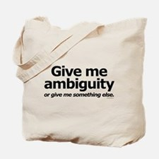 Ambiguity Tote Bag