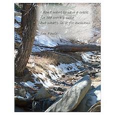 Save a Creek Poster