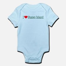 I Love Staten Island Infant Bodysuit