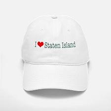 I Love Staten Island Baseball Baseball Cap