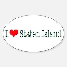 I Love Staten Island Decal
