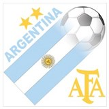 Argentina soccer Wrapped Canvas Art