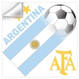 Argentina soccer Wall Decals