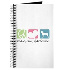 Peace, Love, Rat Terriers Journal
