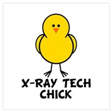 X-Ray Tech Chick Poster