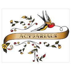 Actuarials Scroll Poster