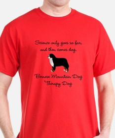 Bernese Therapy Dog T-Shirt