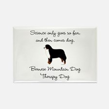 Bernese Therapy Dog Rectangle Magnet
