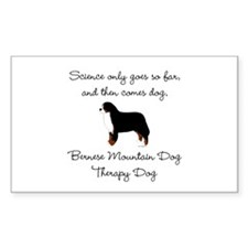 Bernese Therapy Dog Stickers