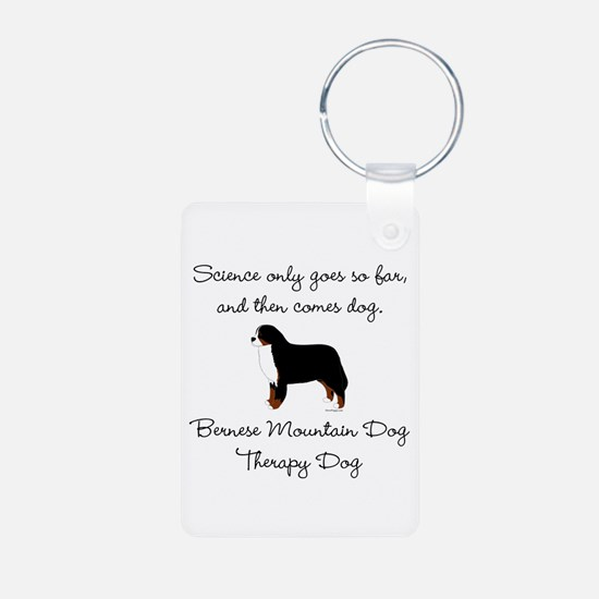 Bernese Therapy Dog Keychains