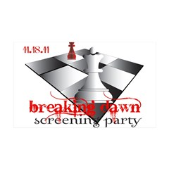 Breaking Dawn Screening Party 38.5 x 24.5 Wall Pee