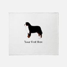 Berner - Your Text Throw Blanket