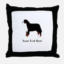 Berner - Your Text Throw Pillow