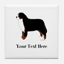 Berner - Your Text Tile Coaster