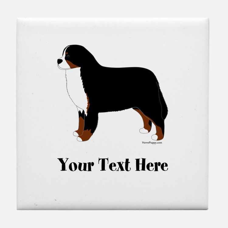 Berner - Your Text Tile Coaster