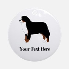 Berner - Your Text Ornament (Round)