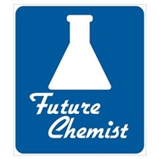 Future Chemist Framed Print