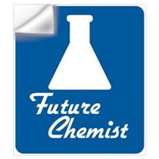 Future Chemist Wall Decal