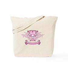Pink Survivor Trophy Tote Bag
