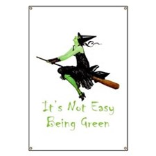It's Not Easy Being Green Banner