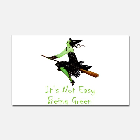 It's Not Easy Being Green Car Magnet 20 x 12