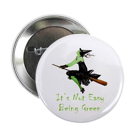 """It's Not Easy Being Green 2.25"""" Button (10 pack)"""