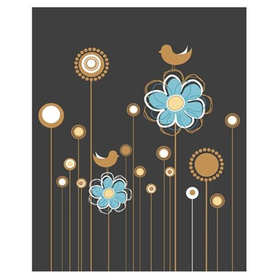 Trendy Floral Decor Canvas Art