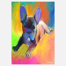 """French bulldog 1 (16x16"""")"""
