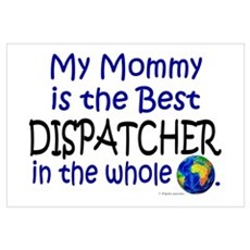 Best Dispatcher In The World (Mommy) Framed Print