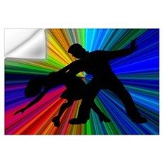 Dazzling Dance Silhouettes Wall Decal