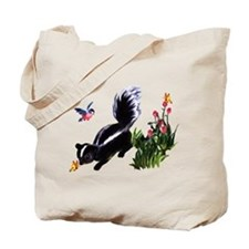 Cute Baby Skunk Tote Bag