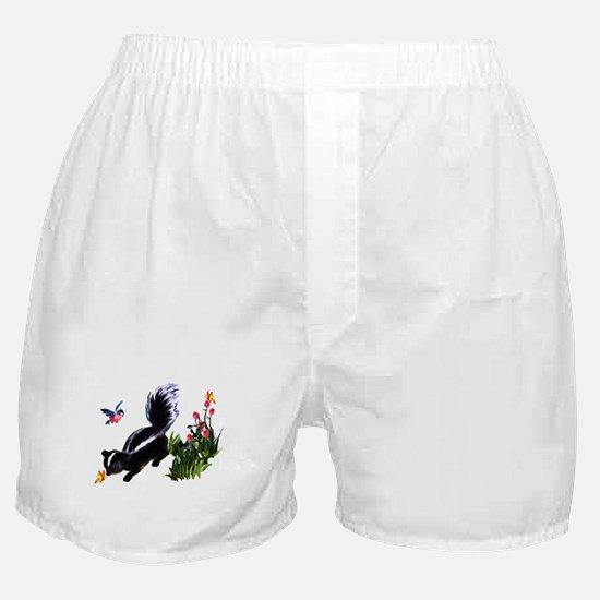 Cute Baby Skunk Boxer Shorts