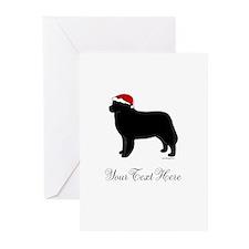 Berner Santa - Your Text Greeting Cards (Pk of 10)