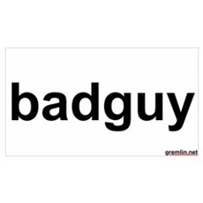 badguy Poster