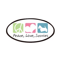 Peace, Love, Scotties Patches