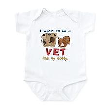 Vet Like Daddy Infant Bodysuit